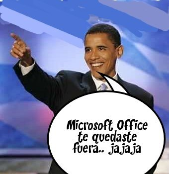 Obama vs Microsoft
